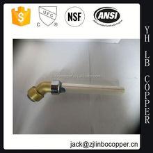 Brass hex nipple tube fitting male nipple/Brass Tee/water meter coupling