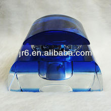 Cheap Blue Perfume Empty Glass Bottle for Cars