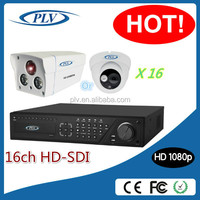 Hot new products for 2014 2mp 1080P HD-SDI 16 cctv camera with dvr kit,16 channel dvr system