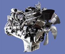 Originale utilizzato pc138us motore completo, motore assy s4d102e-1-a
