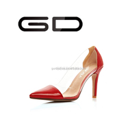 China shoes sexy high heels pointed toe party shoes women sandals ladies shoes