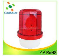 led solar caution light solar panel led warning light with magnet