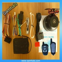 New and security one-way car alarm with long distance keyless entry system