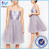 Yihao 2015 High Quality Charming Elegant Petite Sparkle Tulle elegant Fashion Newest Evening Dress