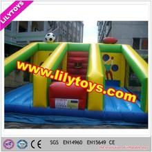 Multifunzionale giochi sportivi, bambini porta da calcio gonfiabile, basket gonfiabile sparare, rugby gonfiabile cerchio