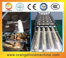 Automatic rolled sugar cone machine,ice cream cone maker equipment/ice cream waffle cone baking machine