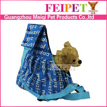 Canvas material small pet sling wholesale cat carrier
