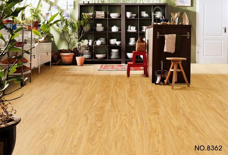 Haute qualit serrure cliquez imitation bois pvc plancher - Linoleo suelo precio ...