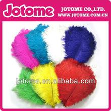 natural de colores grandes plumas de avestruz para la boda y la decoración del partido