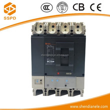 Low voltage NS series 4phase mccb 400 amp moulded case circuit breaker