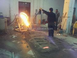 Durable Cheapest aluminum melting holding furnace