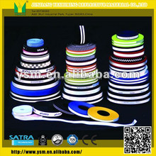 Newest design high quality jacquard reflective elastic webbing