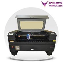 Hq1390 1300 * 900 mm co2 utilizado máquina de corte a laser corte de aço