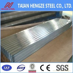 zinc aluminium coated steel roofing sheet/metal roof tile