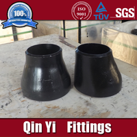 bw Seamless A234WPB ECC and CON pipe fitting reducer