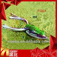 soft plastic fishing lures frog