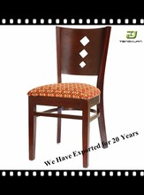 solid oak/ ladder back chair/ back sculpted wooden chair T253/T253B