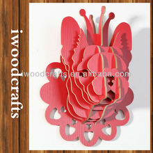 Red dog sculpture For Home/Room iw9898008-14