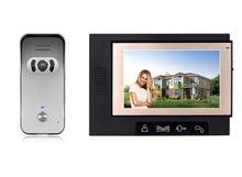 "7"" color 4 wire video door phone 702, with 1/4"" CMOS, 700 TVL camera,security cameras,alarm system wireless"