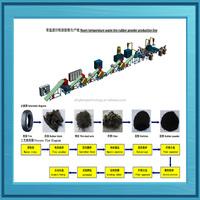 2015 New design Scrap truck Tire Fracturing Machine