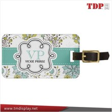 Wholesales Full Colour Printed Luggage Tag Factory OEM and ODM