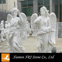 China White Marble Angel Statue