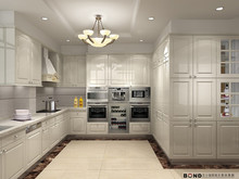 white color light wood stlye kitchen with appliance open kitchen cabinet kitchen furniture