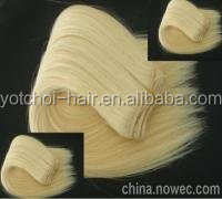Wholesale Human Hair Extensions Yellow Hair Products