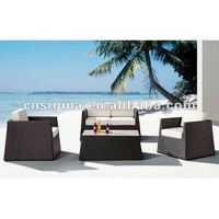 New design victorian outdoor ratan wicker furniture