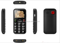 1.77 inch dual sim SOS button big keyboard mobile phone for elderly