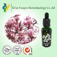 100% Pure Natural magnolia essential oil,magnolia extract,magnolia bark extract
