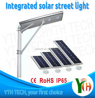 25W Integrated all in one solar street Light led lights driver 2 years warranty led street light