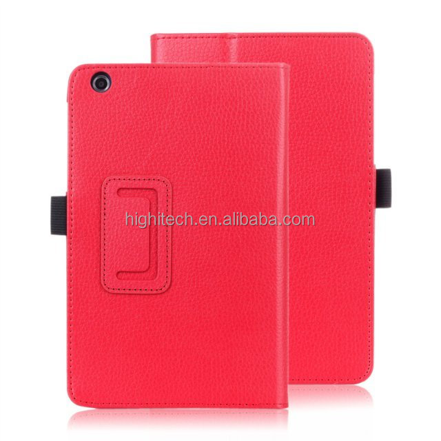 Litch Grain Folio PU Leather Case Cover for Lenovo A5500