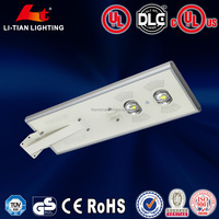 solar ip camera with led street light
