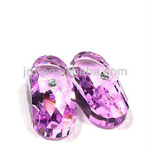 Cute Pink Crystal Baby Shoes for Christmas, Christian gift