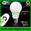 wifi 7w e27 12 voltios bombillas led de china