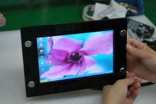 7inch waterproof USB touch screen monitor with hdmi vga dvi input