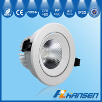 30W IP20 cob downlight led house decoration manufacturers distributors 6.5inch IP40 CE ROHS ETL TUV EMC certification