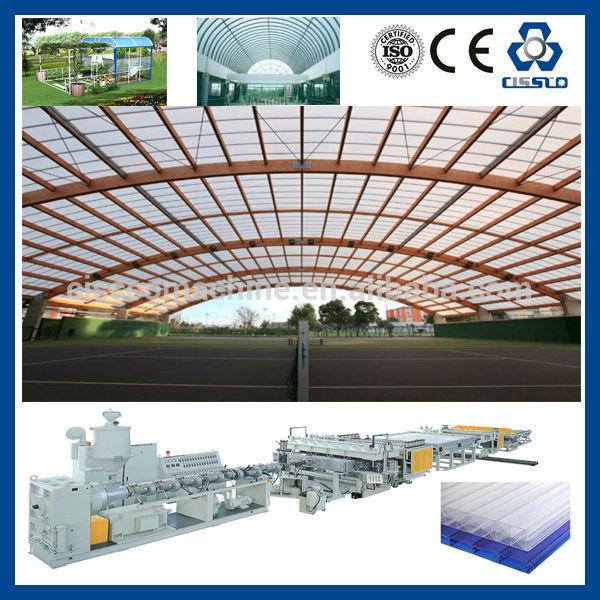 Китай хорошее qualtiy пк, крышей из поликарбоната панелей делая машину