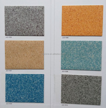 Hospital usage commercial pvc roll vinyl floor