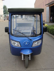 Large loaded E-rickshaw 7 Passenger Electric Tricycle hot sale