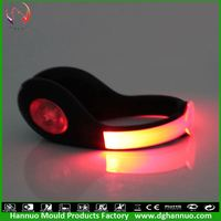 party decorations flash led light christmas ornaments and party craft custom silicone slap bracelets