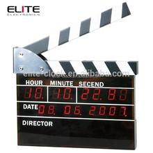 LED digital director's alarm clock