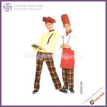 wholesale Round sleeve with vivid color of kitchen uniform Chef Wear uniform for hotel kitchen chefwear uniform manufacturer