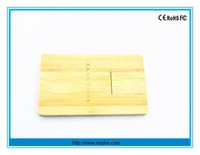 Credit card, USB flash drive