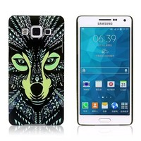 Animal faces hard back case cover for Samsung galaxy A5