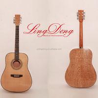 Unique design OEM folding acoustic guitar