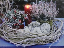 CE Certified 2015 lastest painting of angel with led light for holiday gift cheap china wholesale