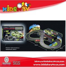1:64 electric toy race track electric car for kids with remote control