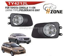 FOR TOYOTA COROLLA 11~ONLY(JAPAN TYPE) / FIELDER / AX 10 2007,FOG LAMP,FOG LIGHT,AUTO LAMP,AUTO LIGHT